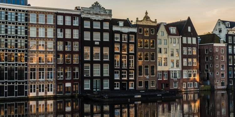 Photo of the Amsterdam Canals