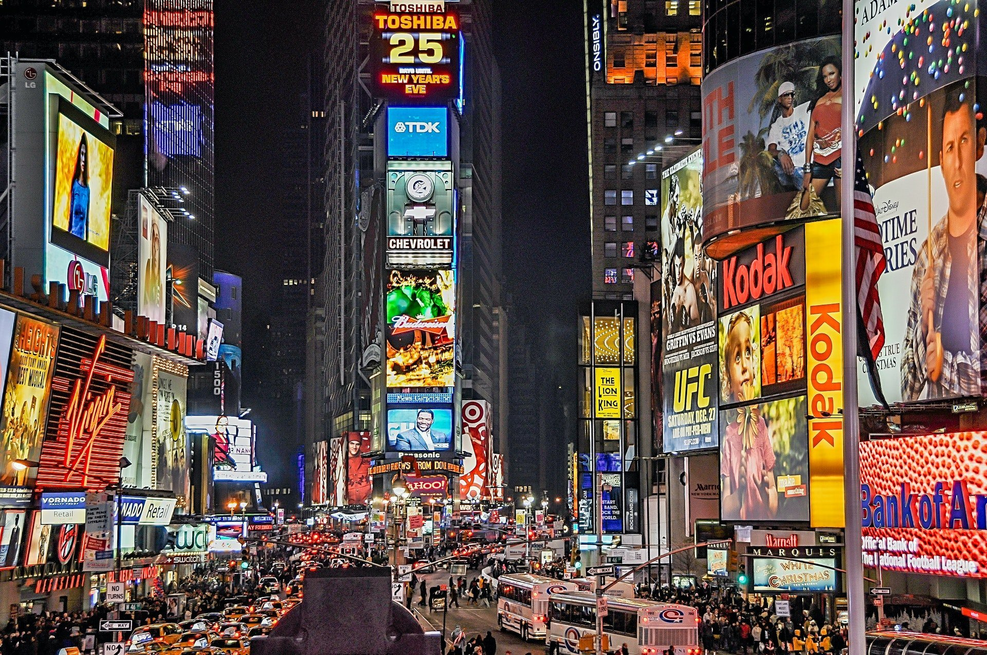 What is Digital Out-of-home (DOOH) advertising and how does it work?